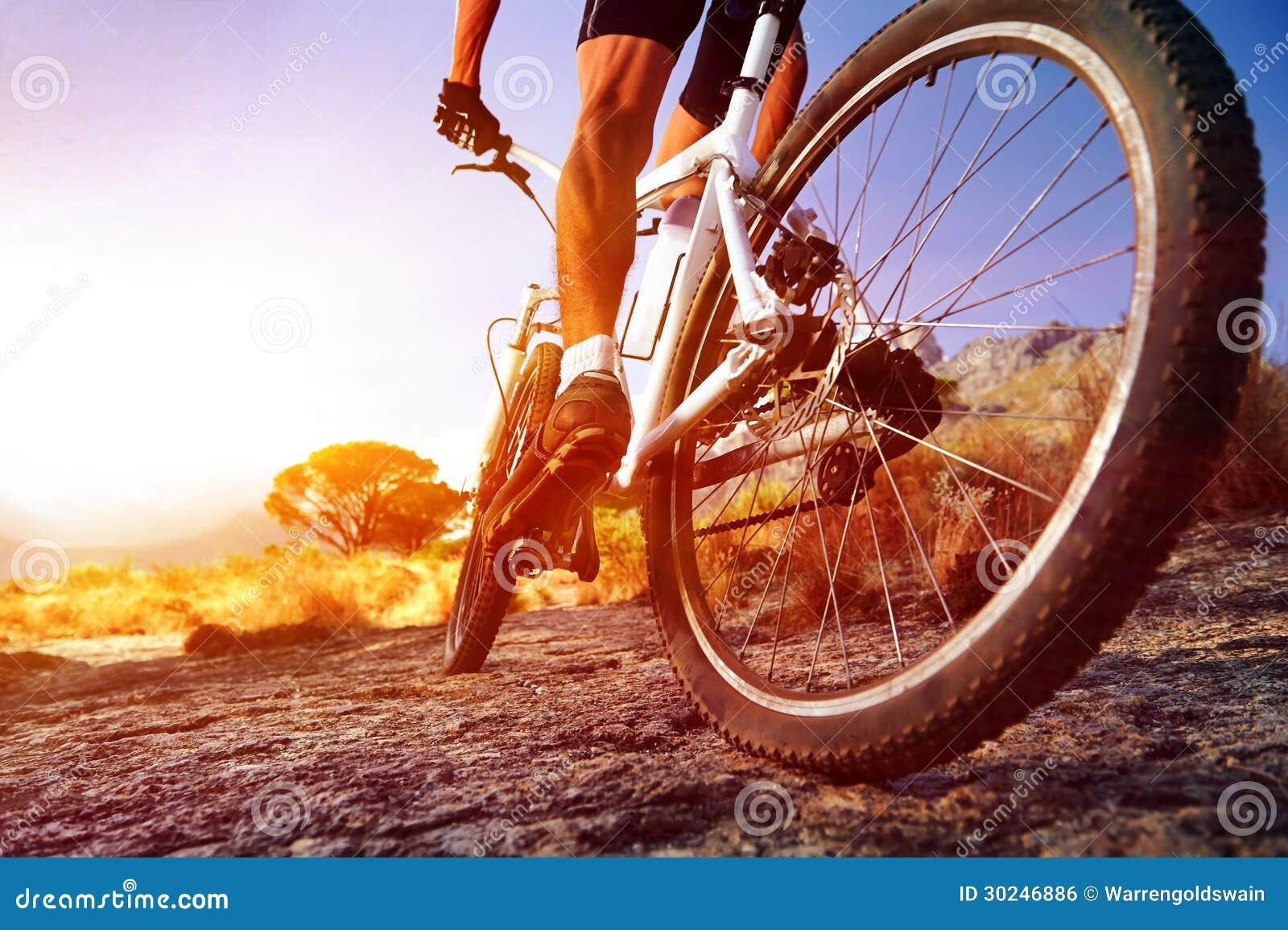 De fietsmens van Moutain