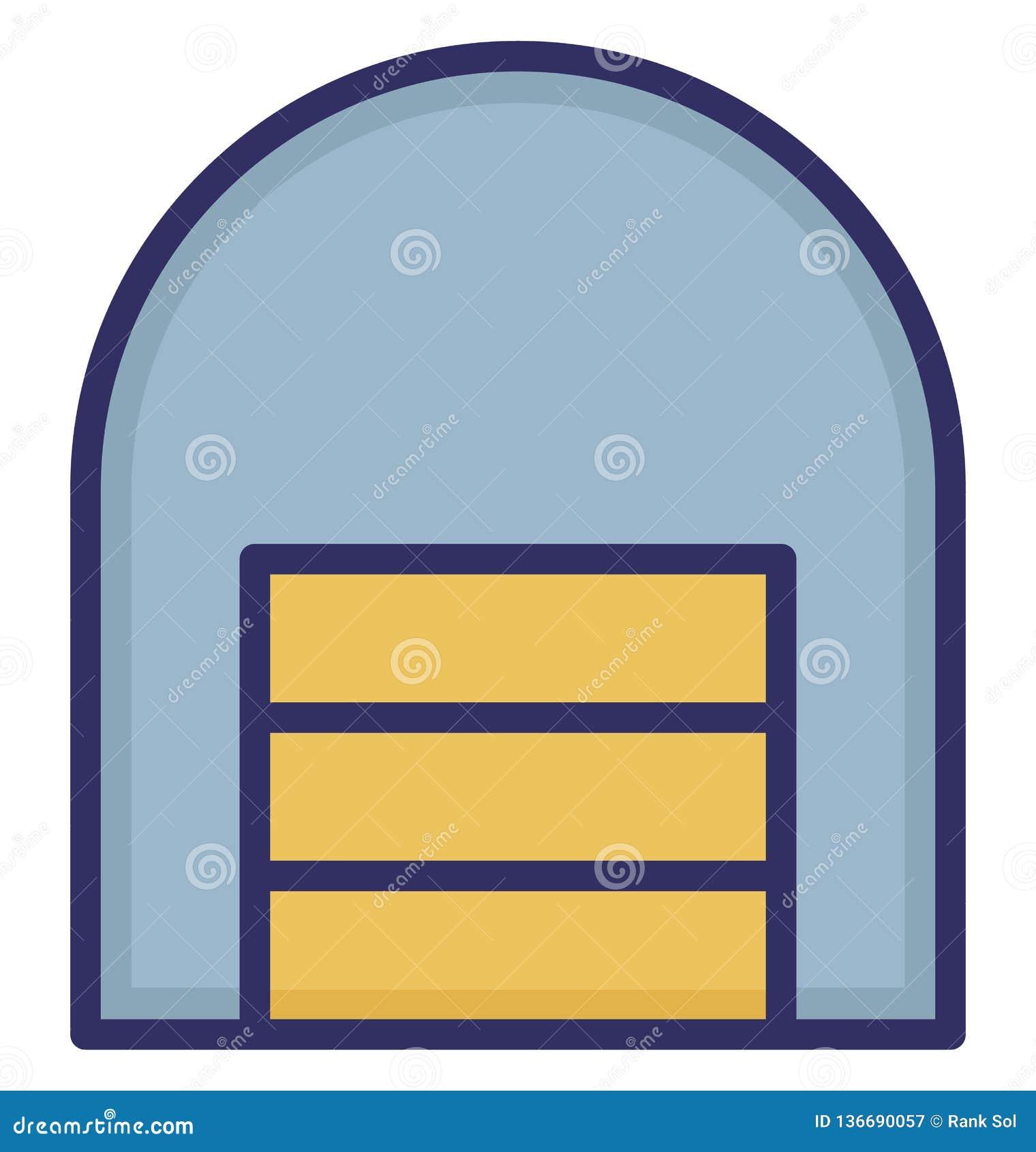 Lager boutique isolerad vektorsymbol som kan vara lätt att redigera eller ändrade