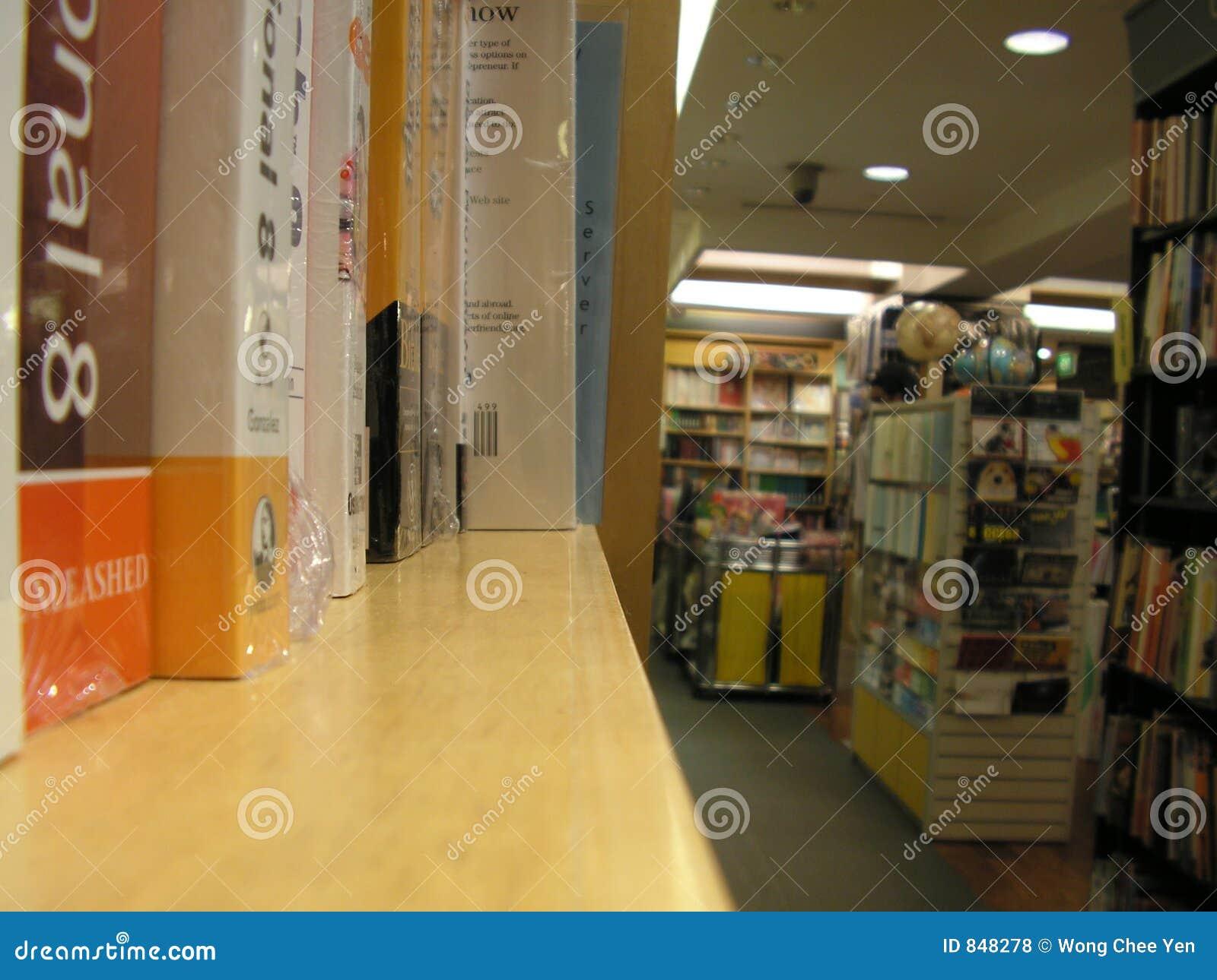 Lager för bokhylla
