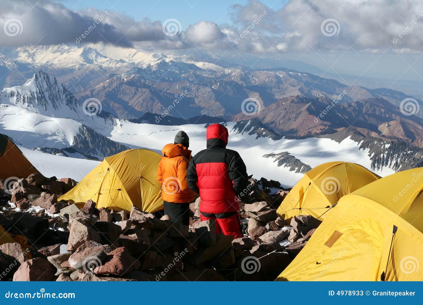 Lager zwei - Aconcagua