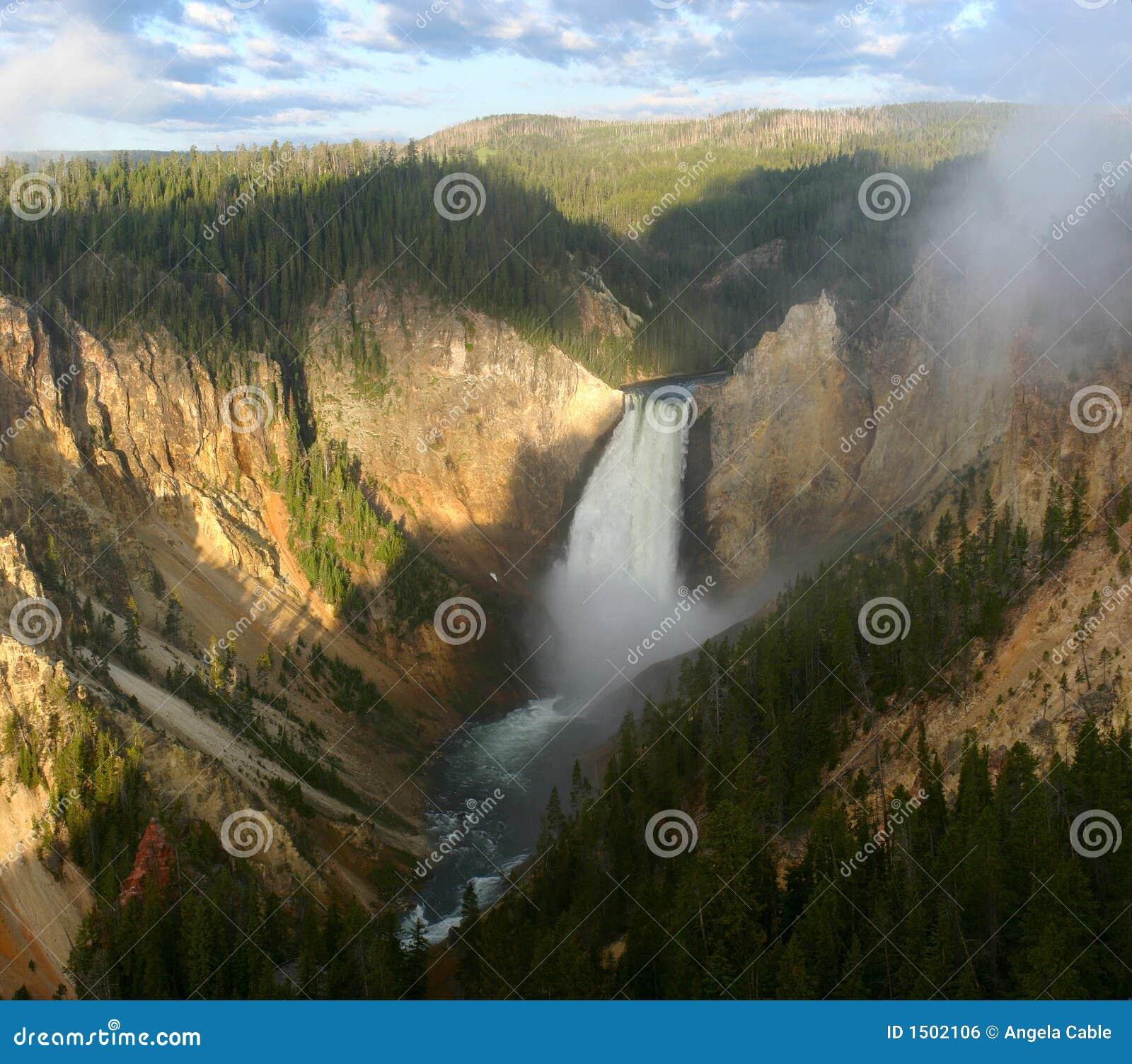 Lagere Val van Yellowstone