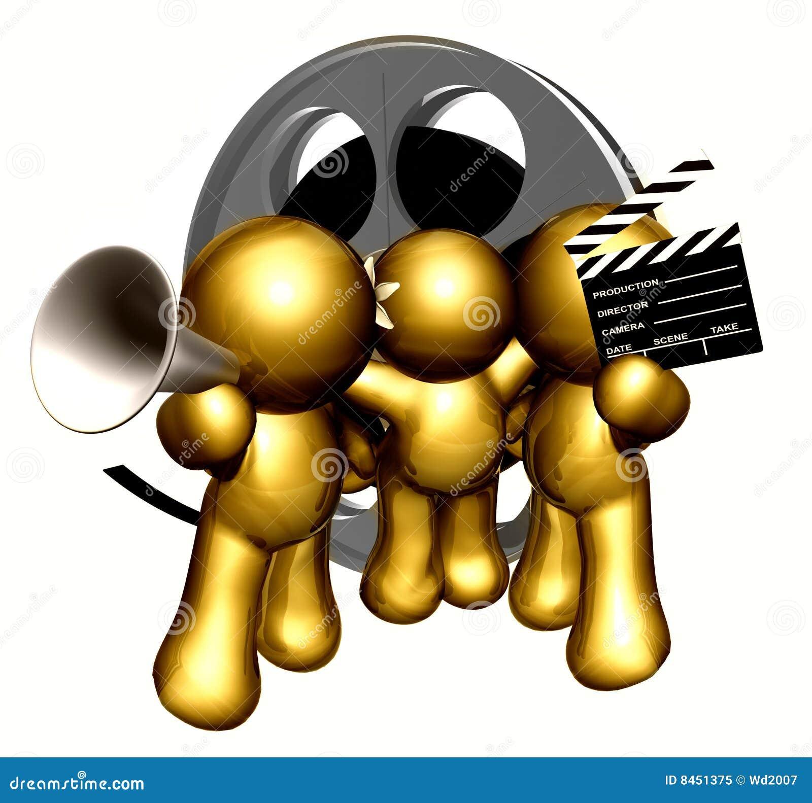 Laget figures symbolsfilmproduktion