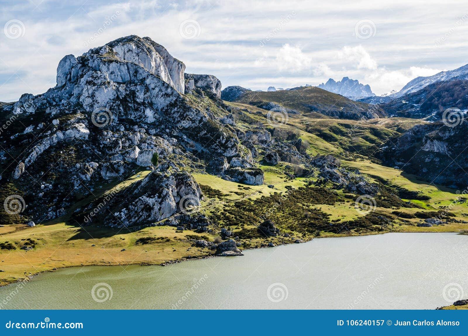 Laghi covadonga, Picos de Europa L Asturia, Spagna