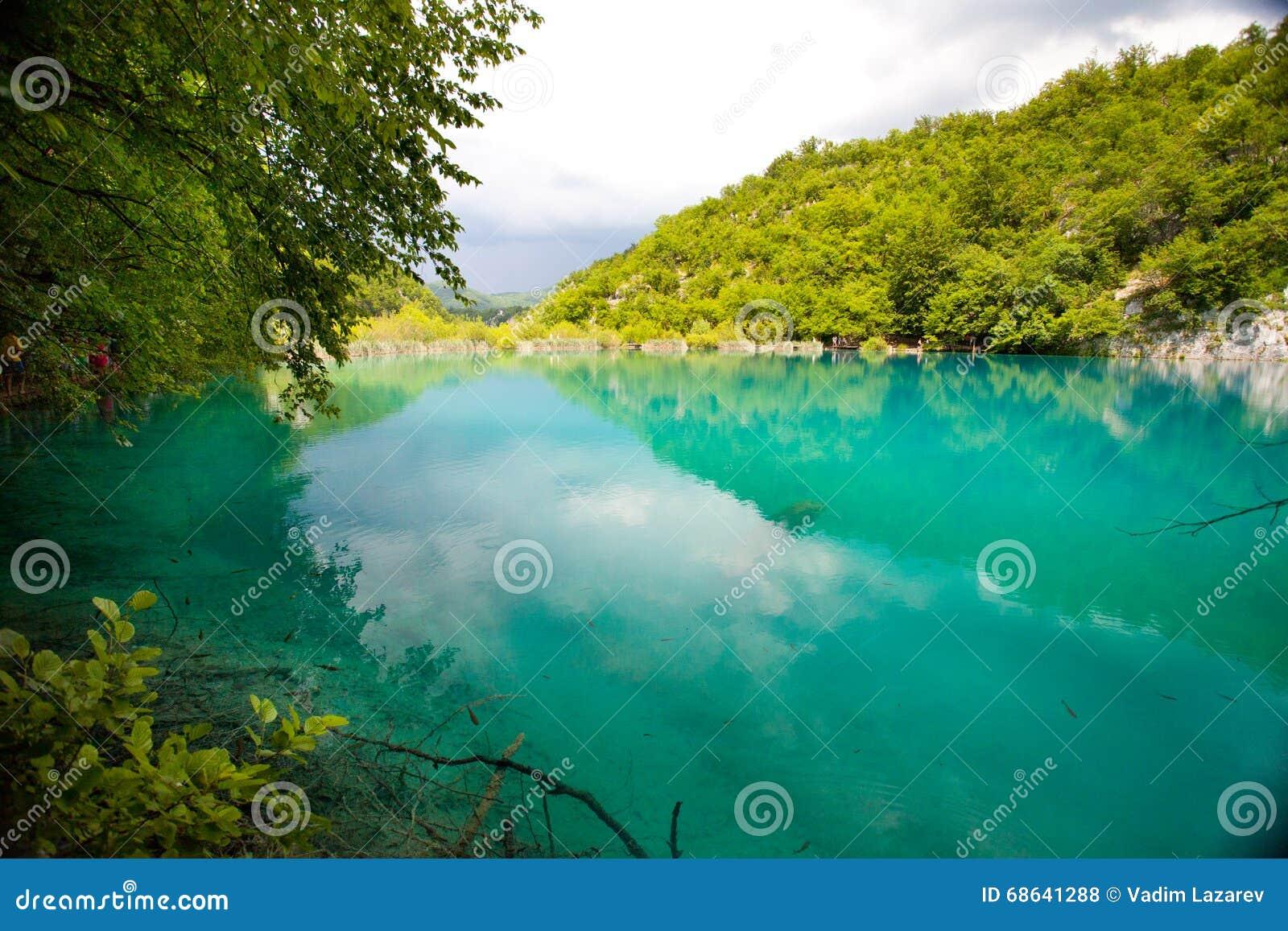 Laghi Plitvice del turchese