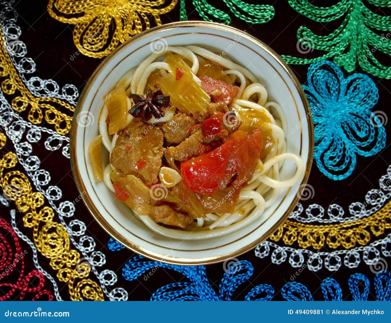 Download Lagman stockbild. Bild von geschmack, suppe, mittagessen - 49409881