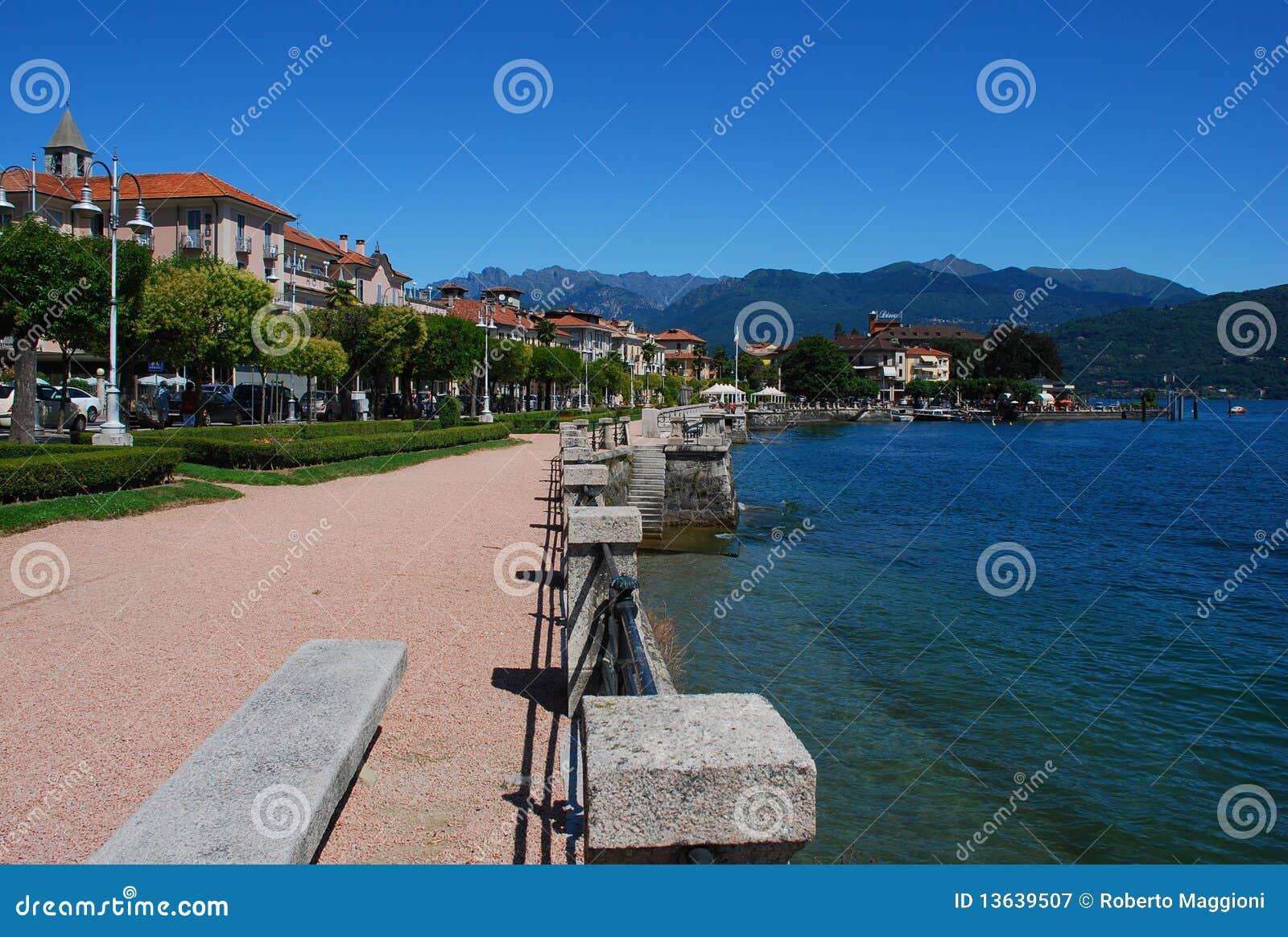 Lago της Ιταλίας baveno maggiore
