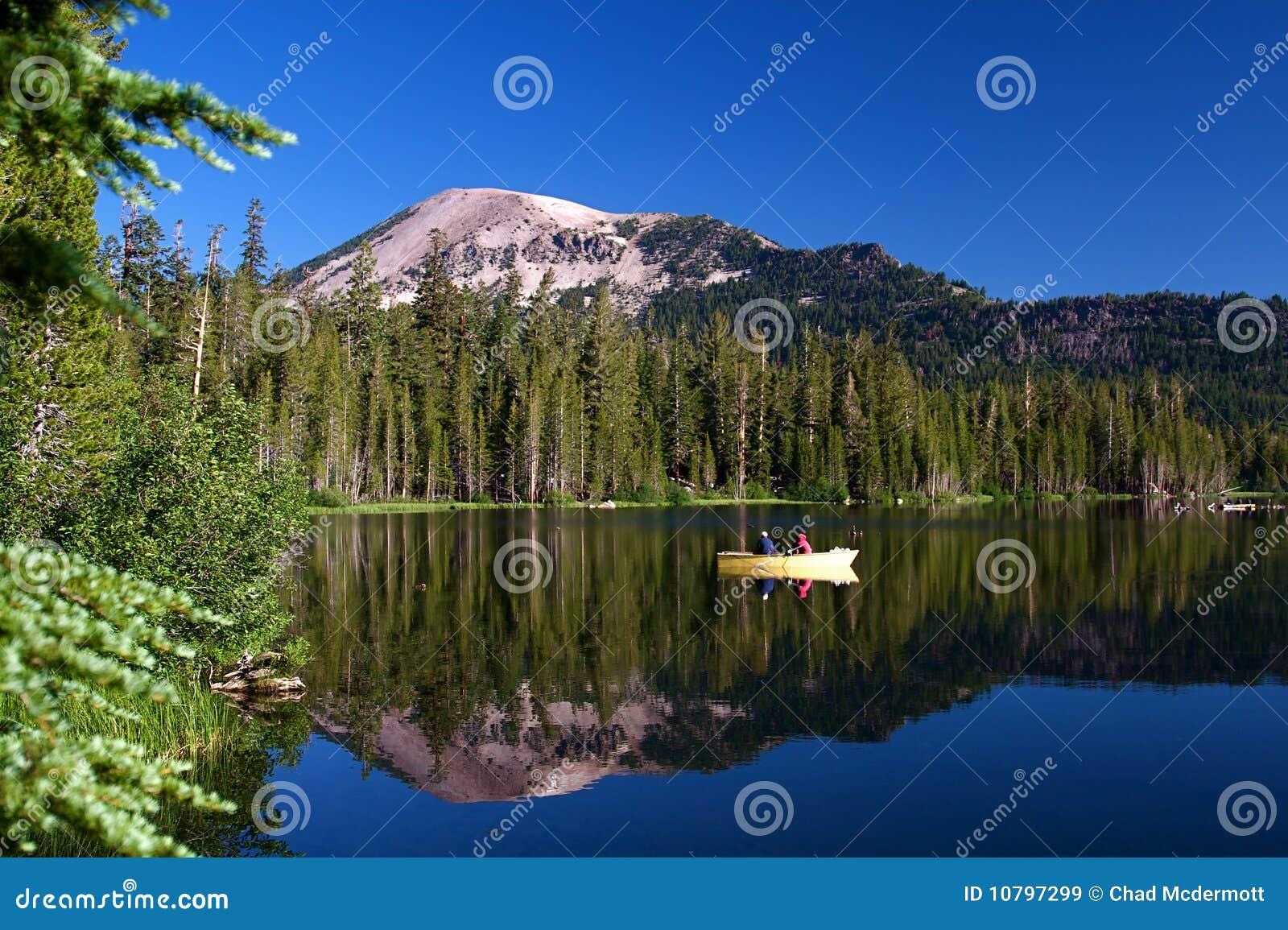 Lago alpestre