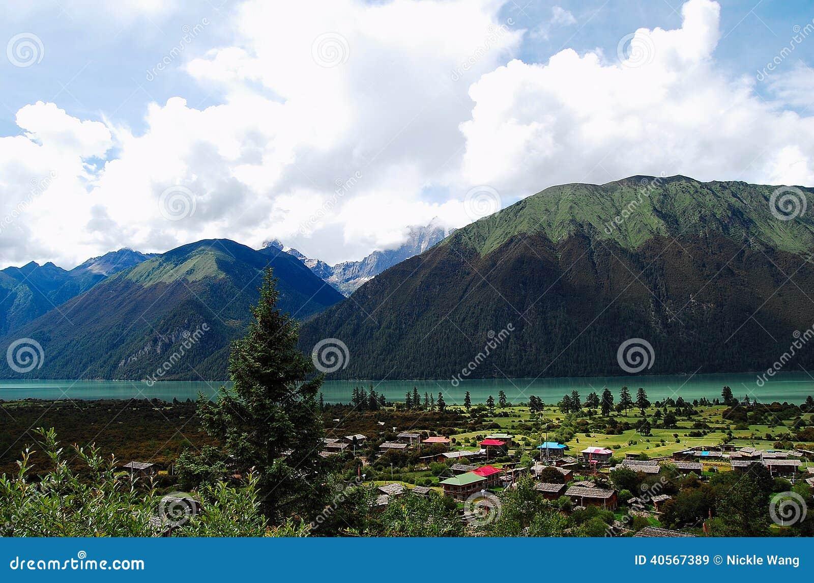 Lago china Tibet Basum