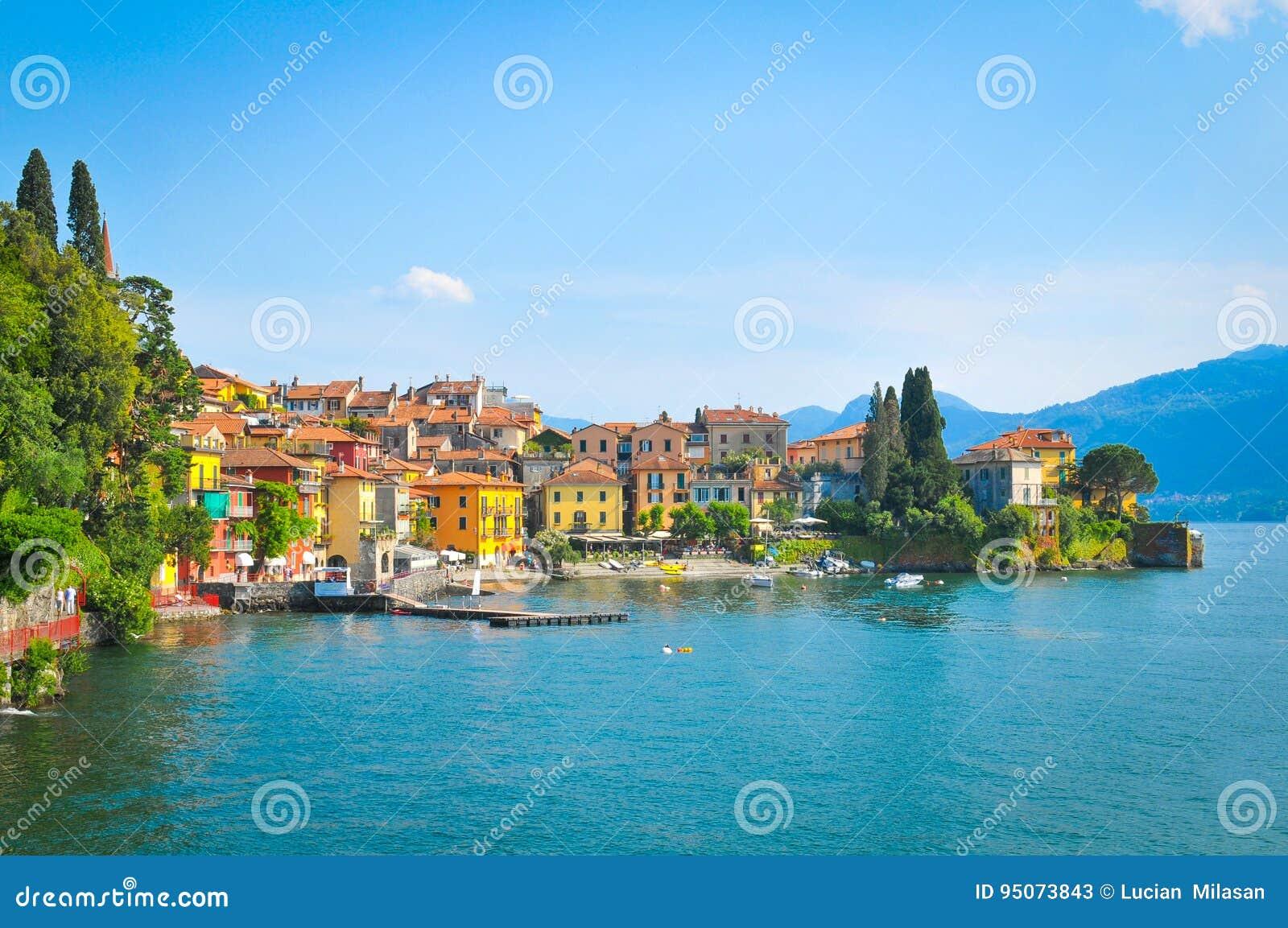 Lago Como en Italia