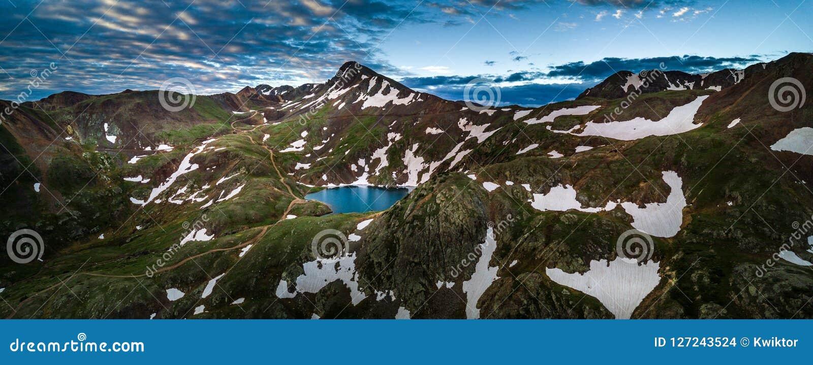 Lago Como - paso de Poughkeepsie, San Juan Mountains del ingeniero P