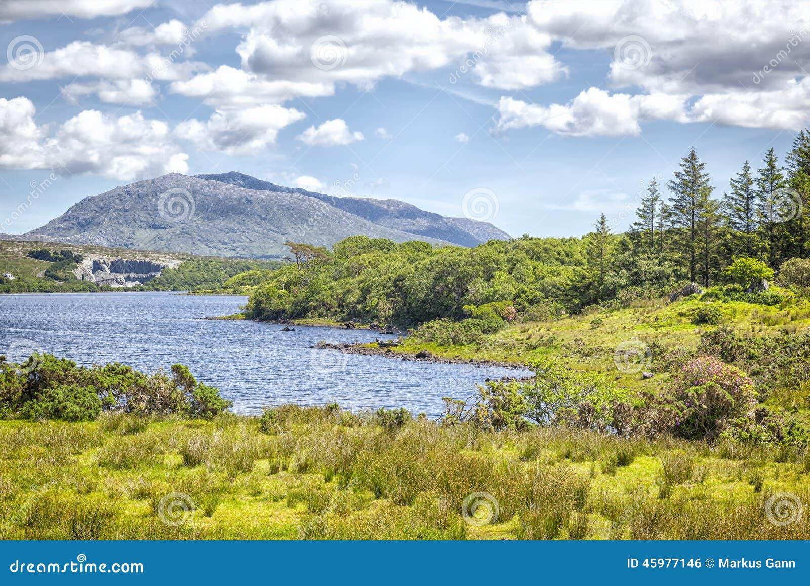 Lago Corrib Irlanda