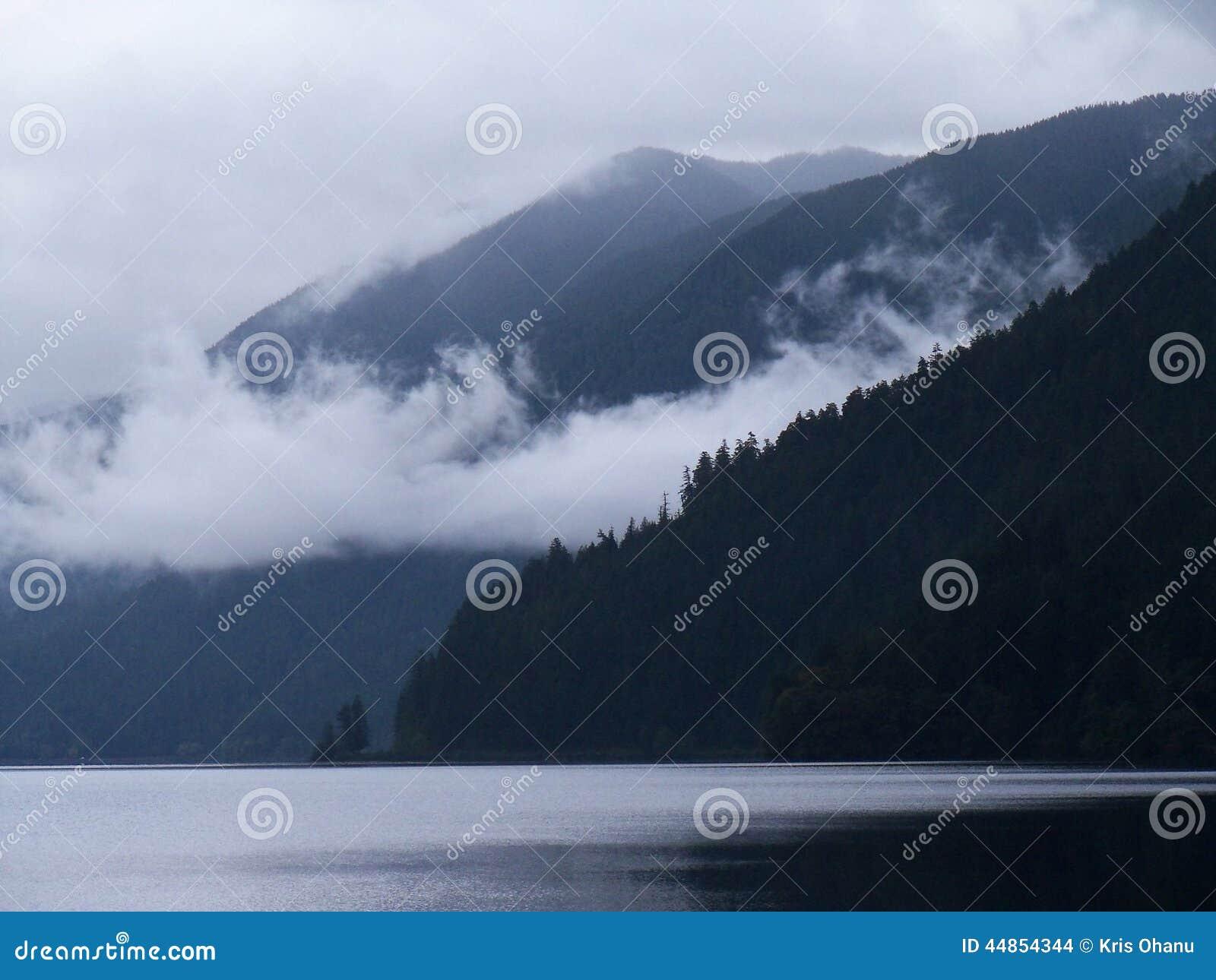 Lago Crescent Fog