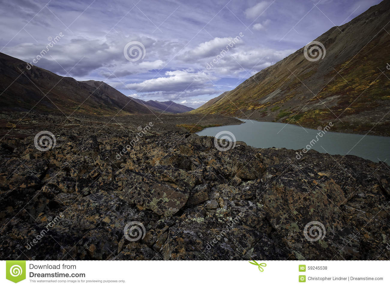 Lago de Alaska back Country