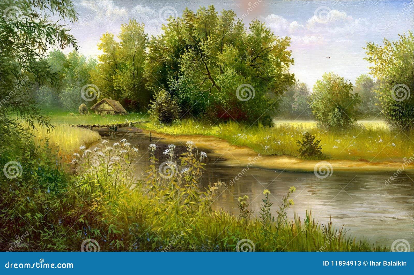 Lago de madera