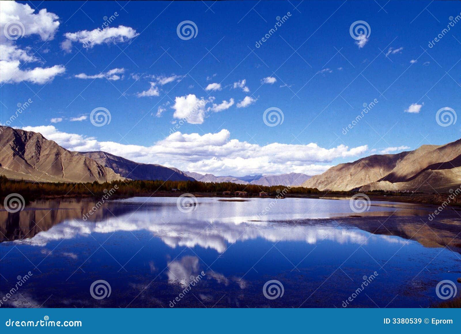 Lago do céu