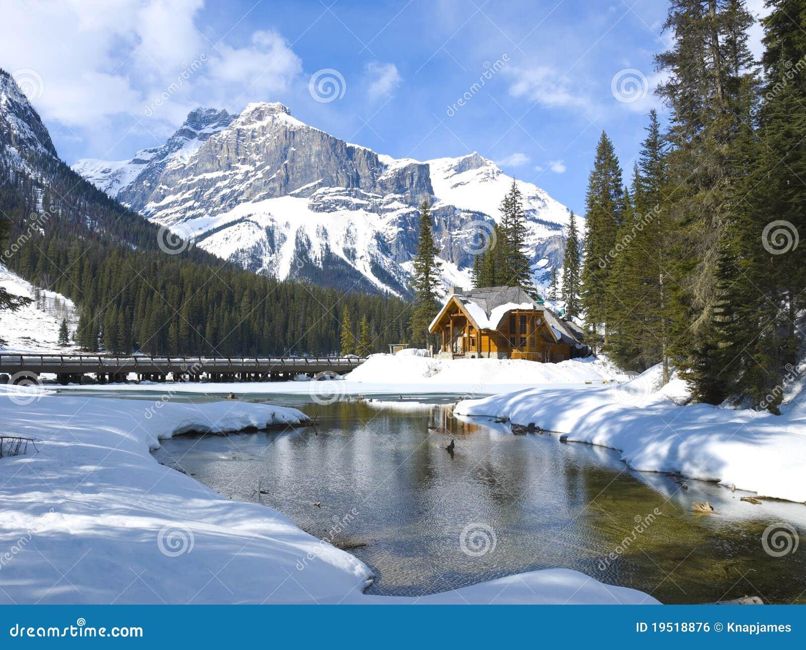 Lago emerald, Montanhas Rochosas canadenses