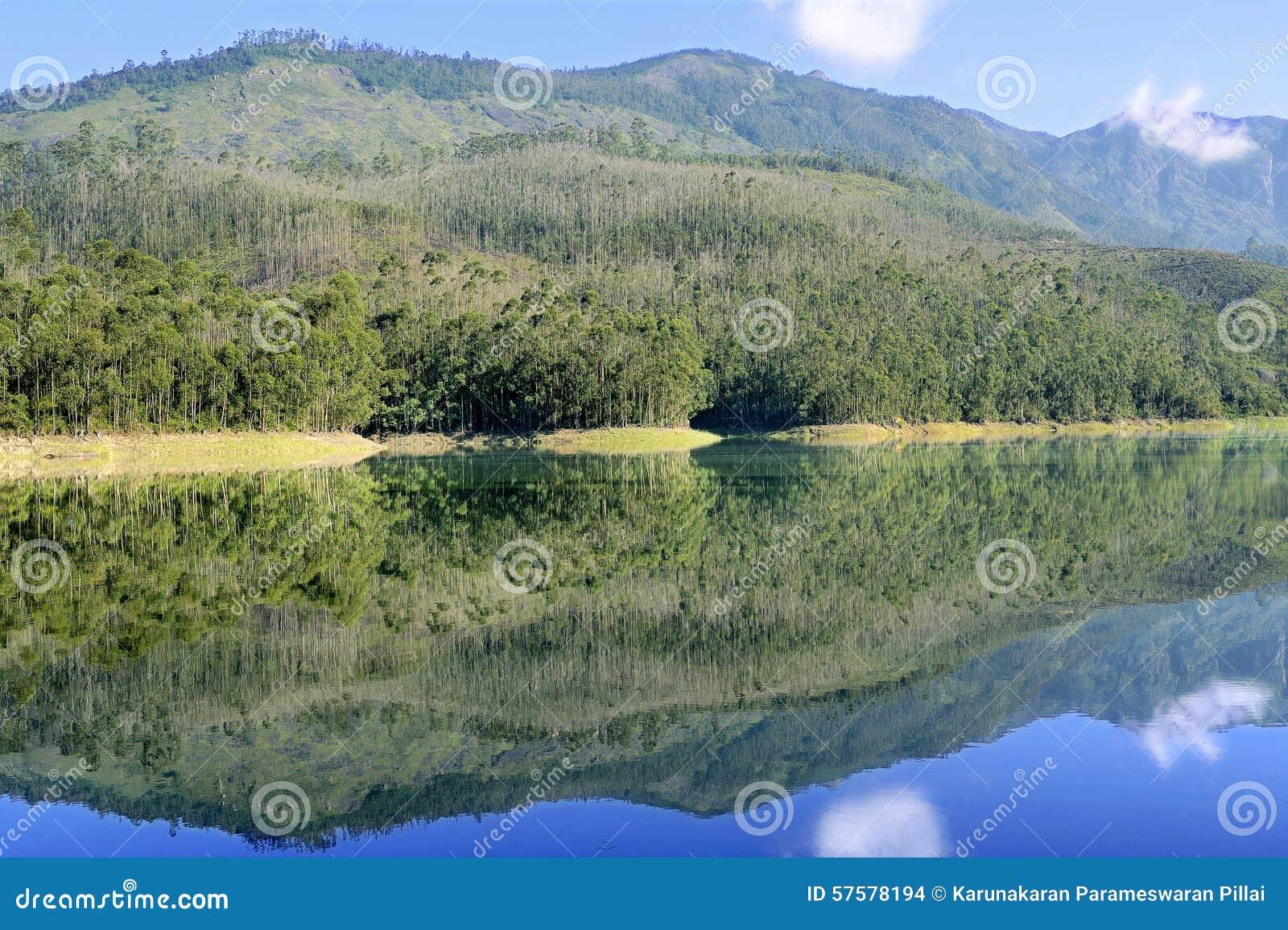 Lago escénico Munnar Mattupetty