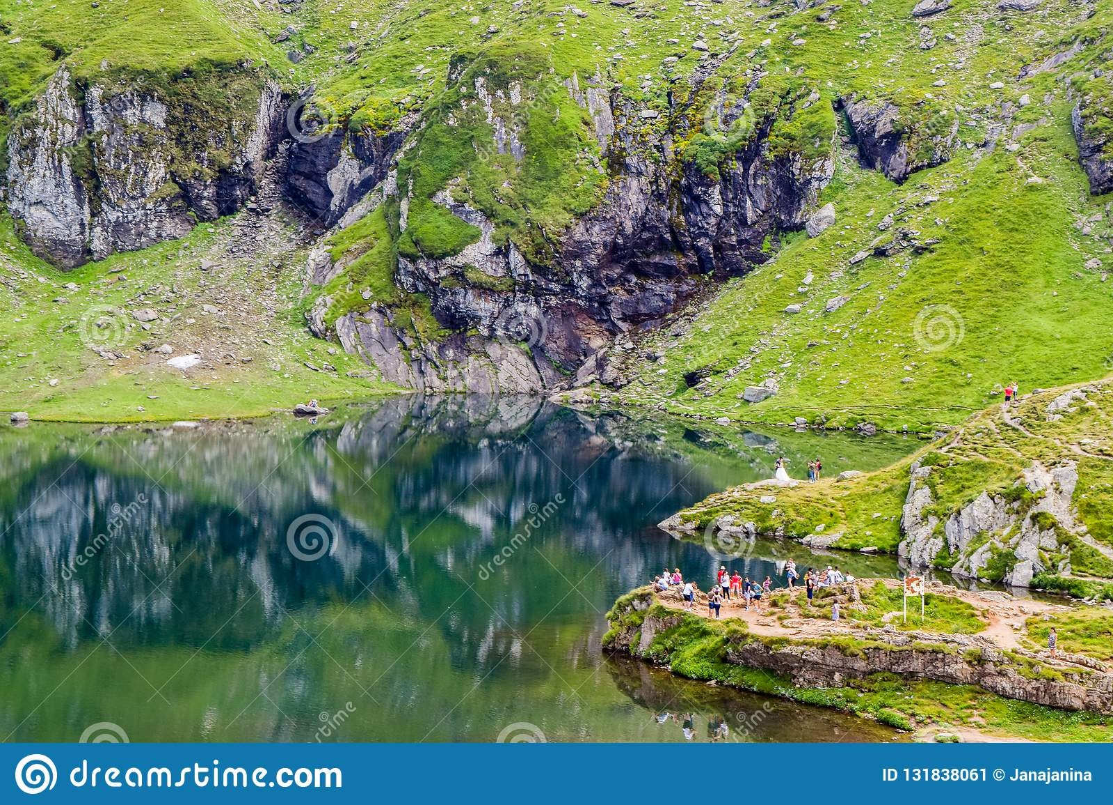 Lago glacier di Balea, Romania