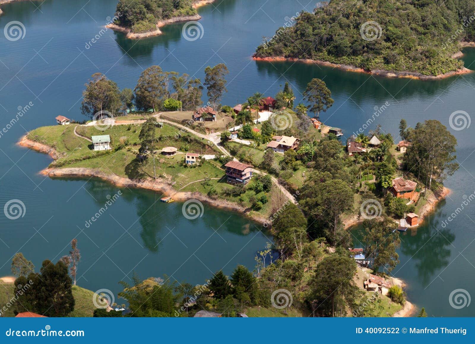 Lago Guatape, Colombia