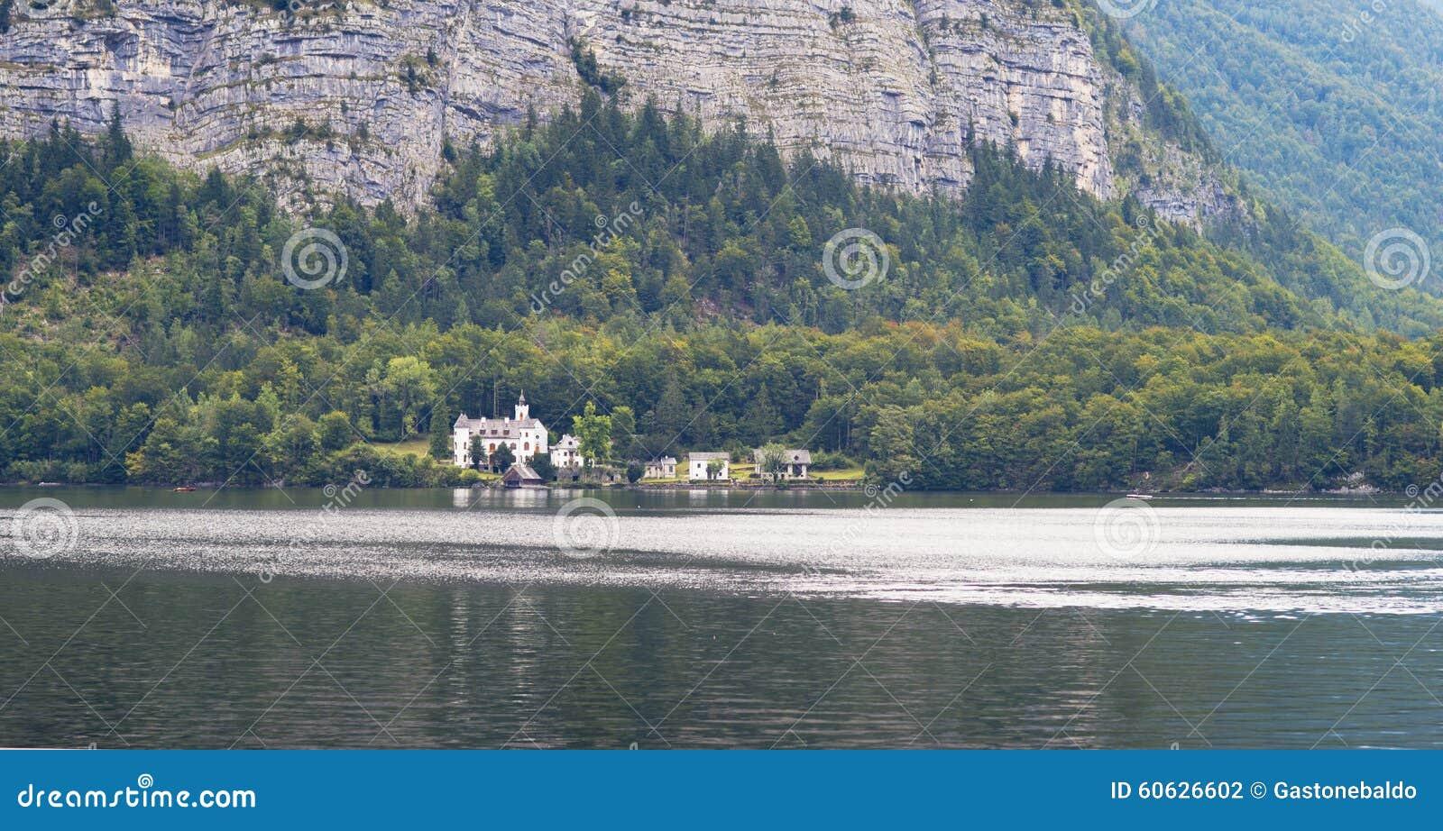 Lago Hallstatt, Áustria