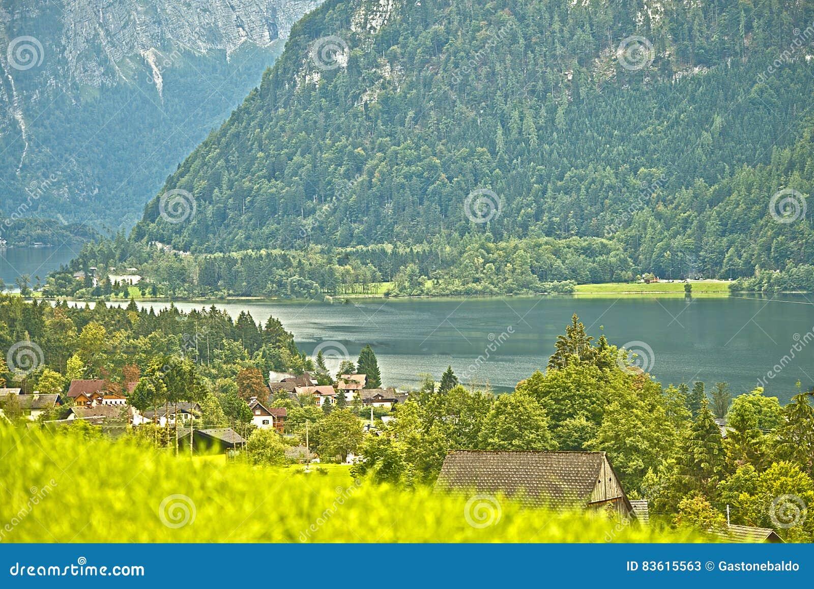 Lago Hallstatter, Áustria