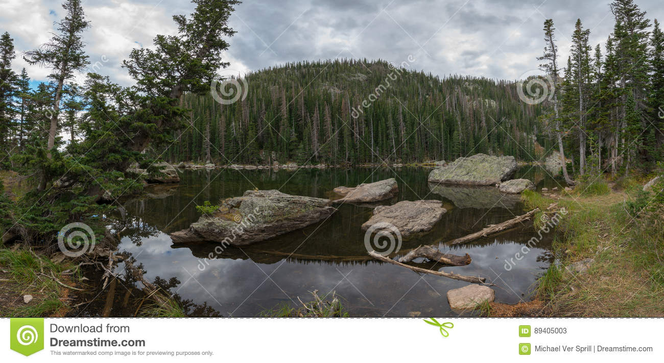Lago ideal Pano em Colorado