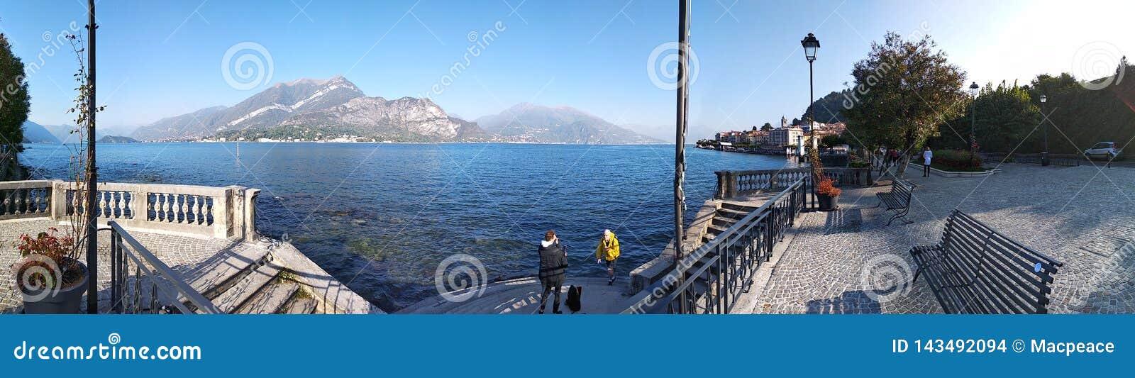Lago Italia del norte Como