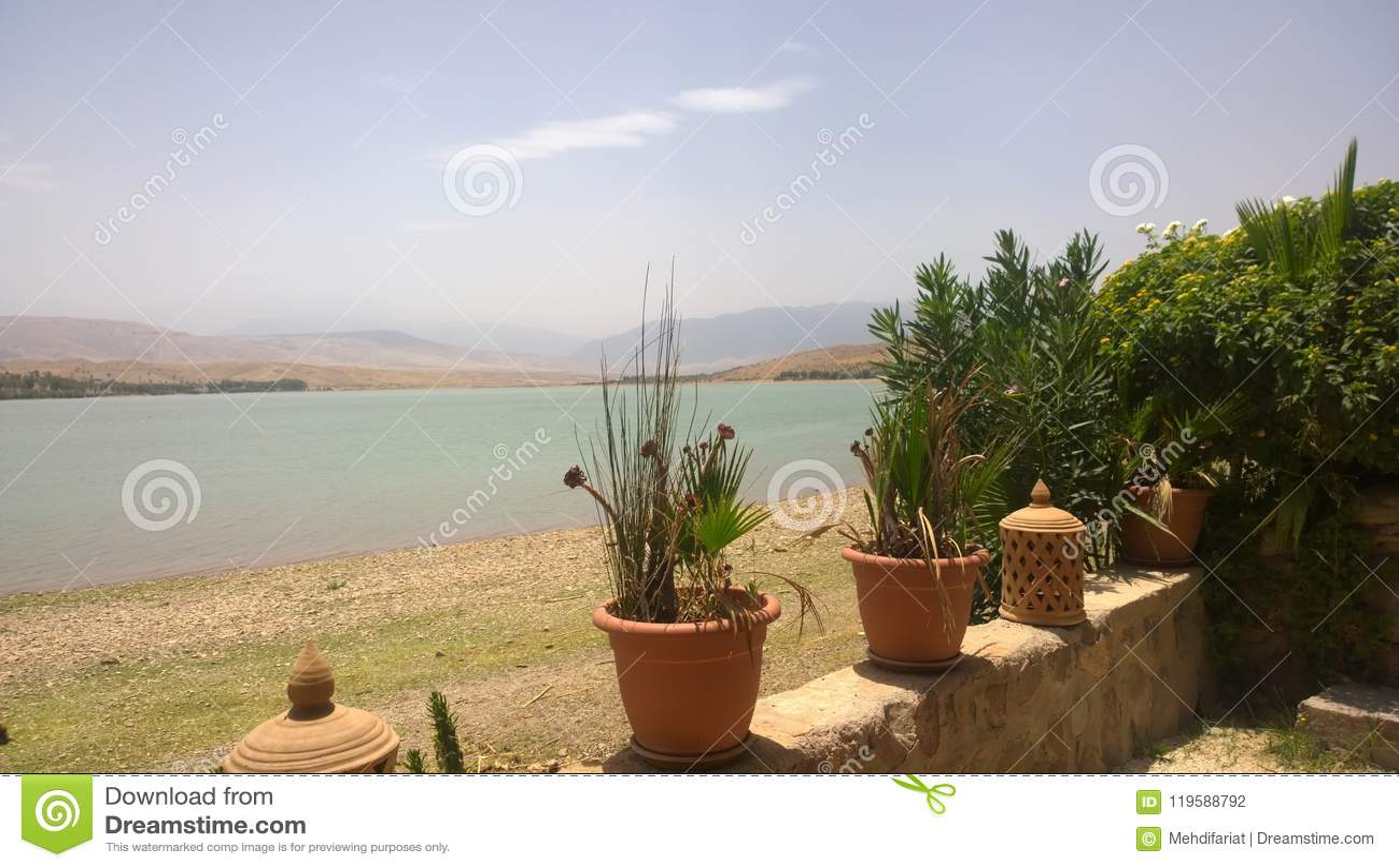 Lago Lalla Takerkoust, Marrakesh - Marruecos