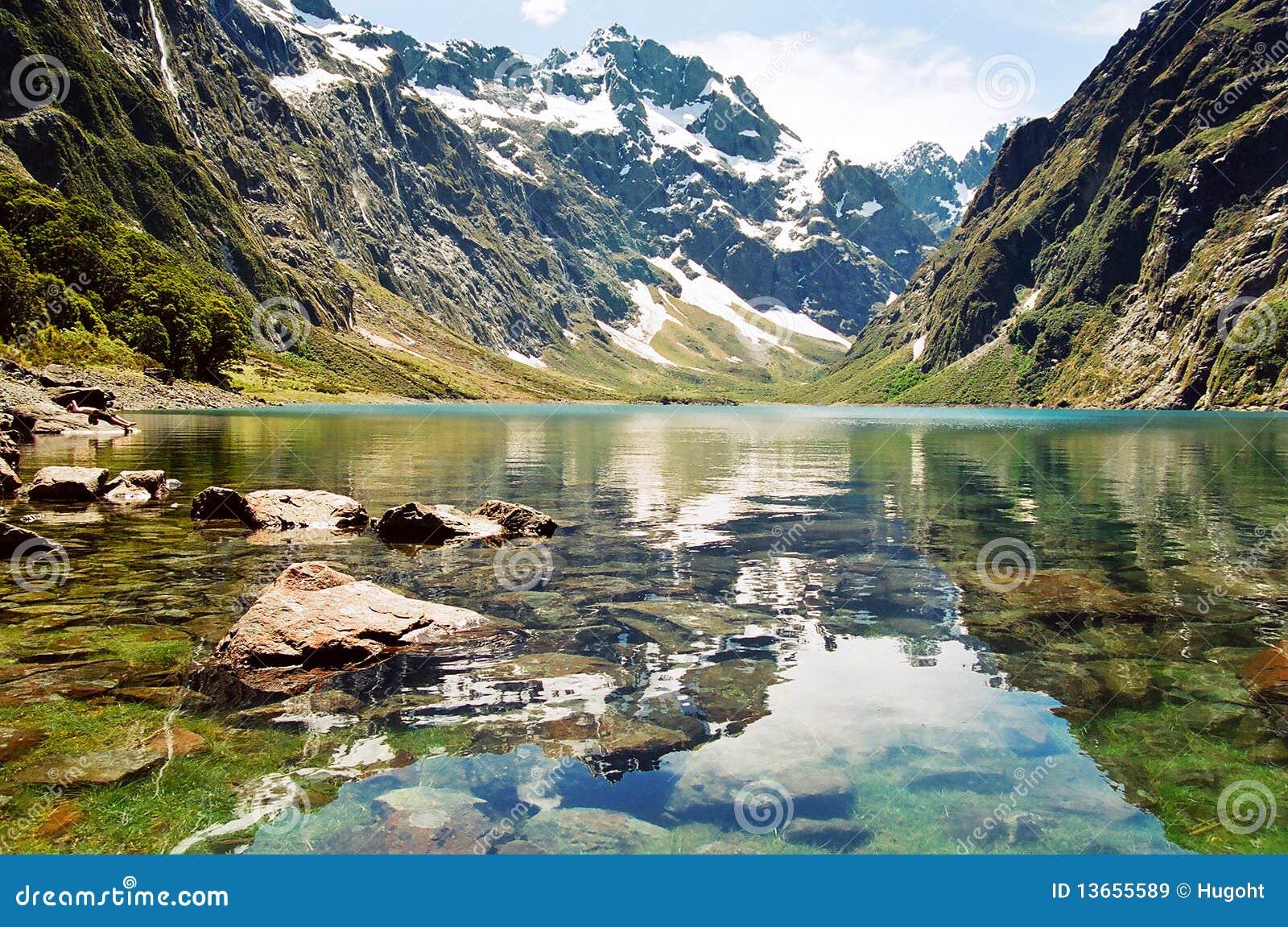 Lago mariano, Nueva Zelandia