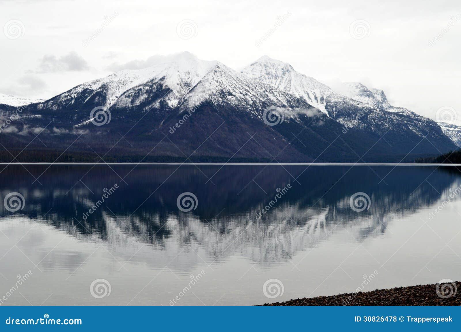 Lago McDonald in Glacier National Park