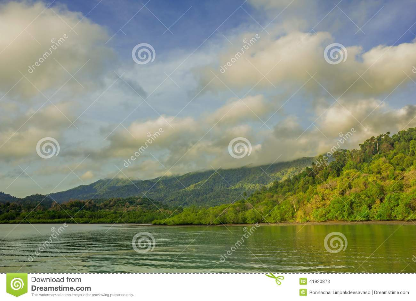 Lago morning