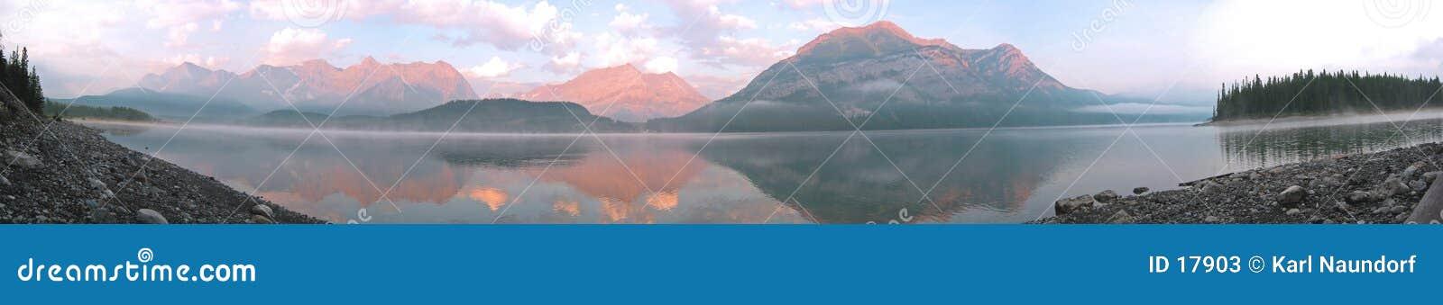 Lago mountain panoramico