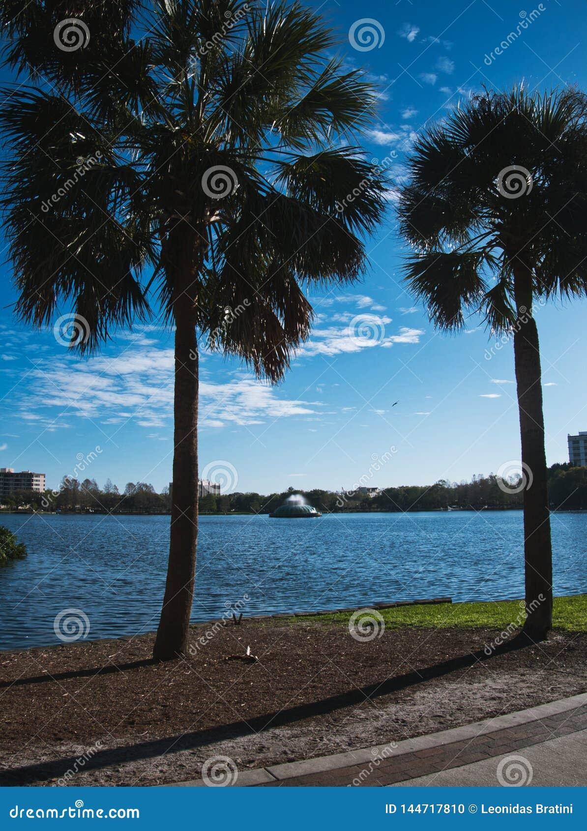 Lago no meio da cidade