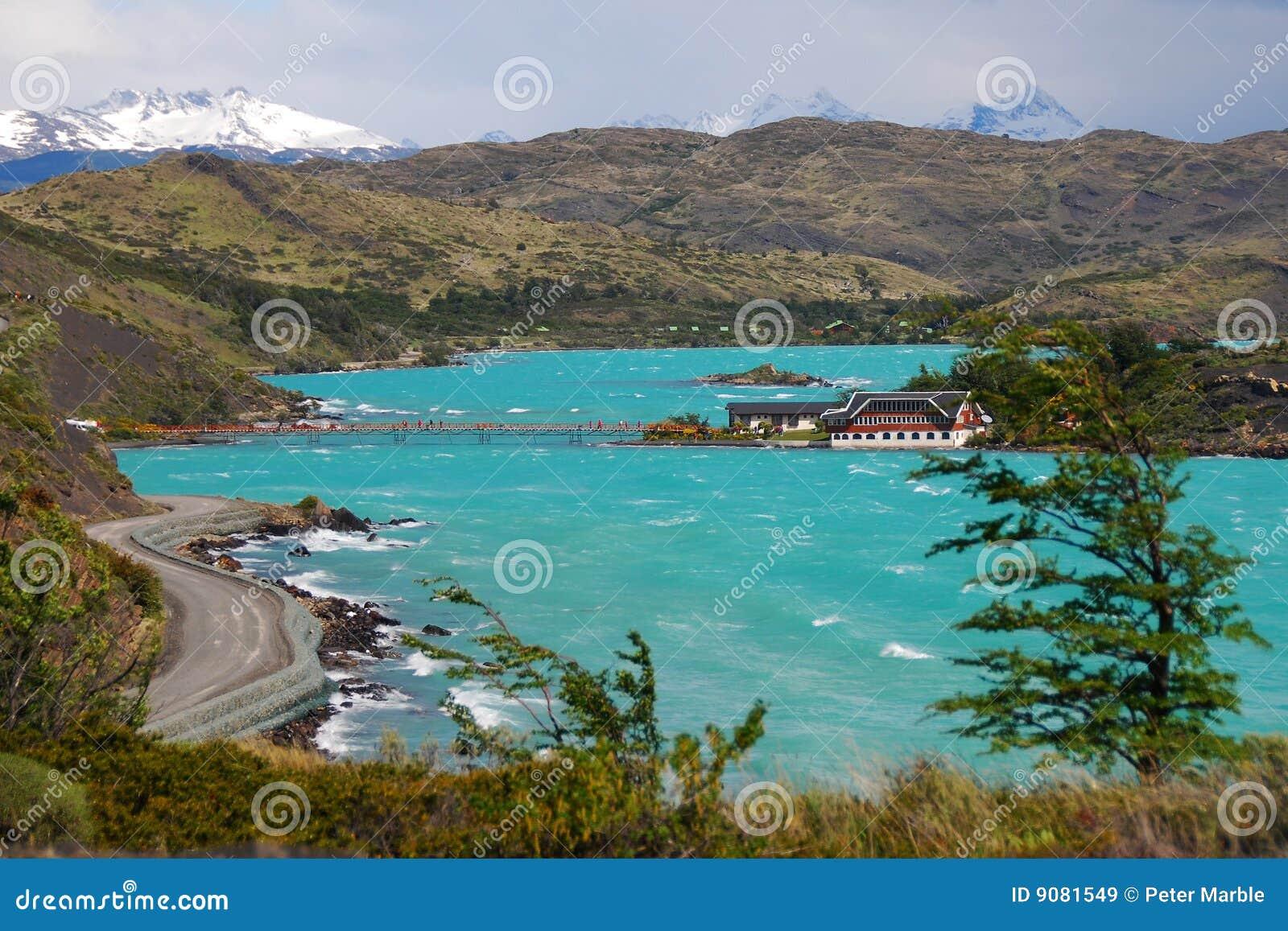 Lago Pehoe in Torres Del Paine