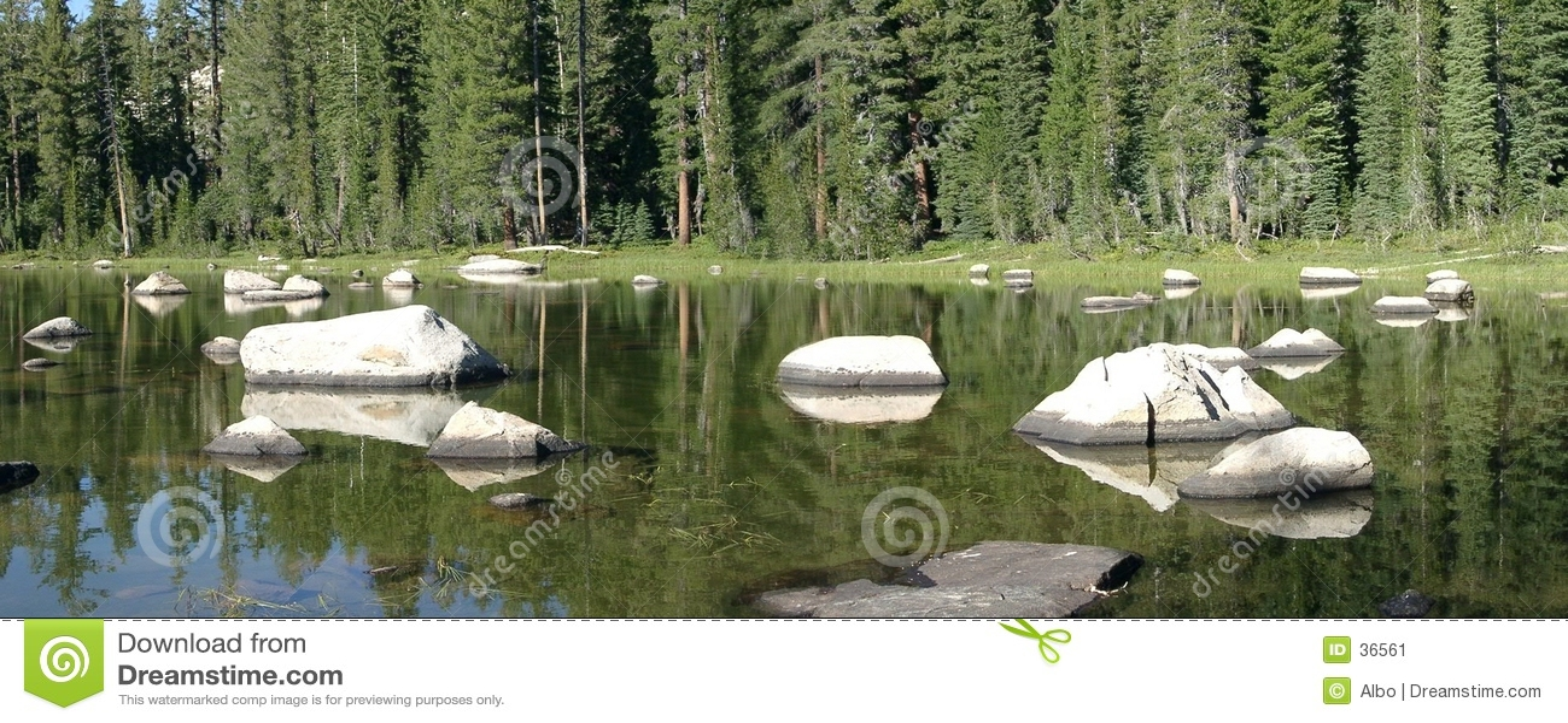 Lago pequeno