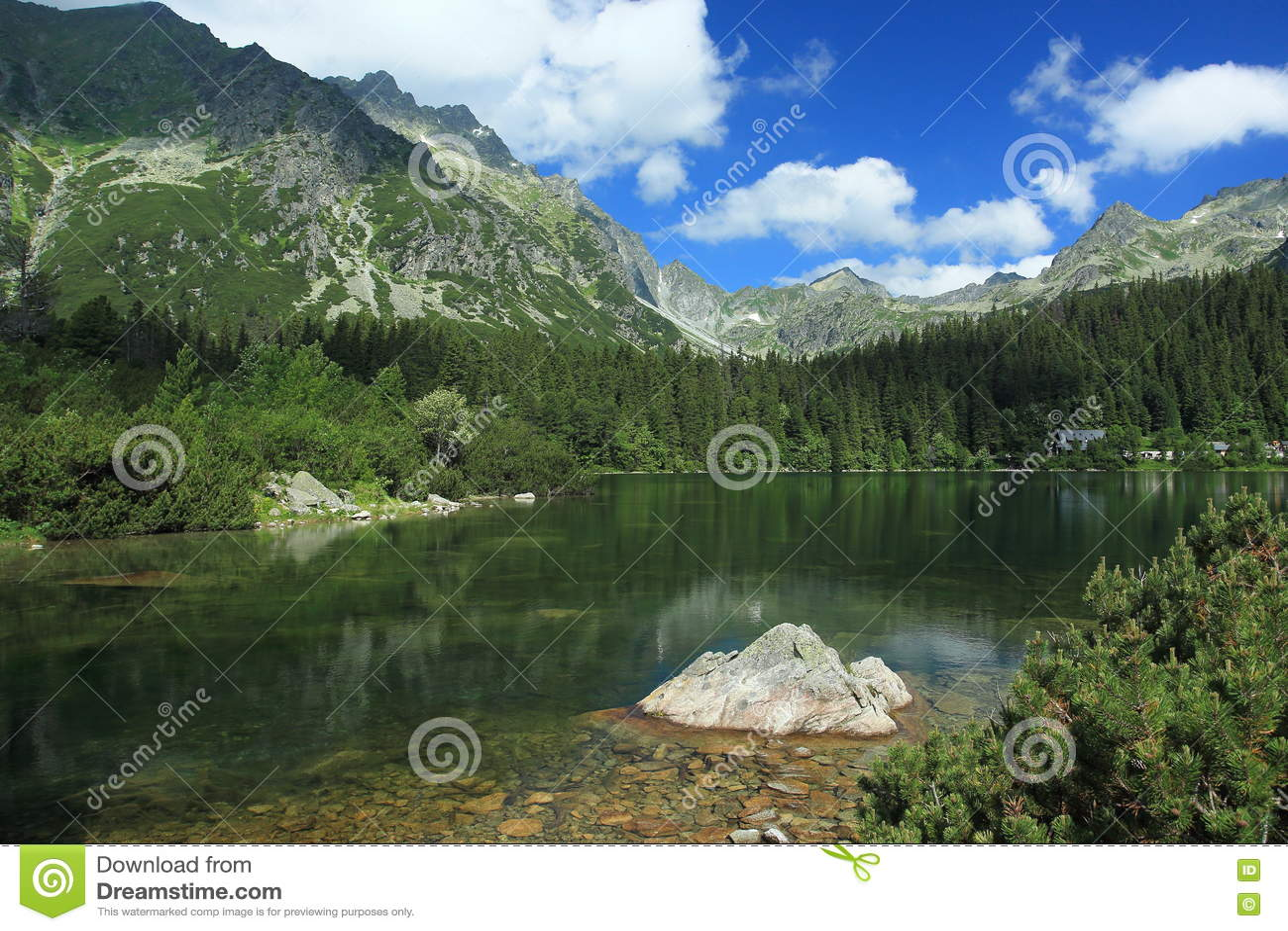 Lago Popradske