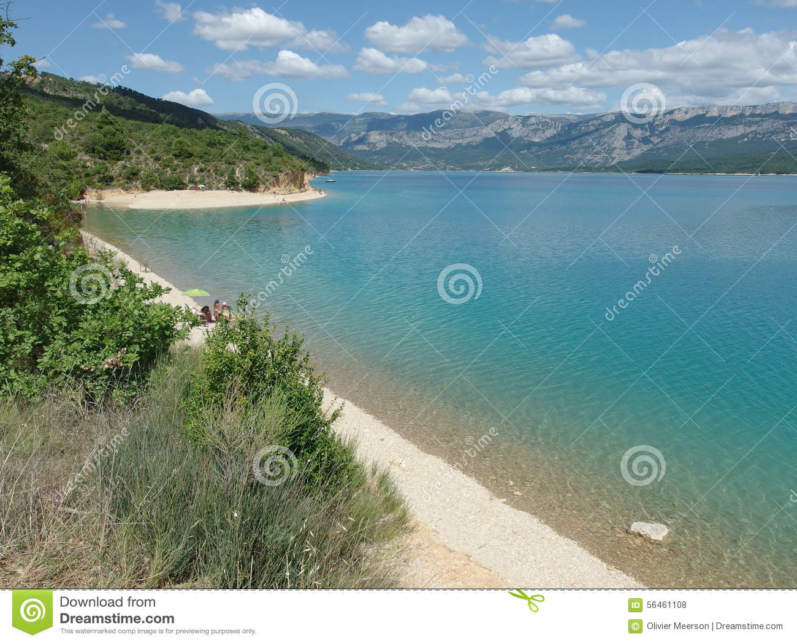Lago Sainte croix du verdon, Provence