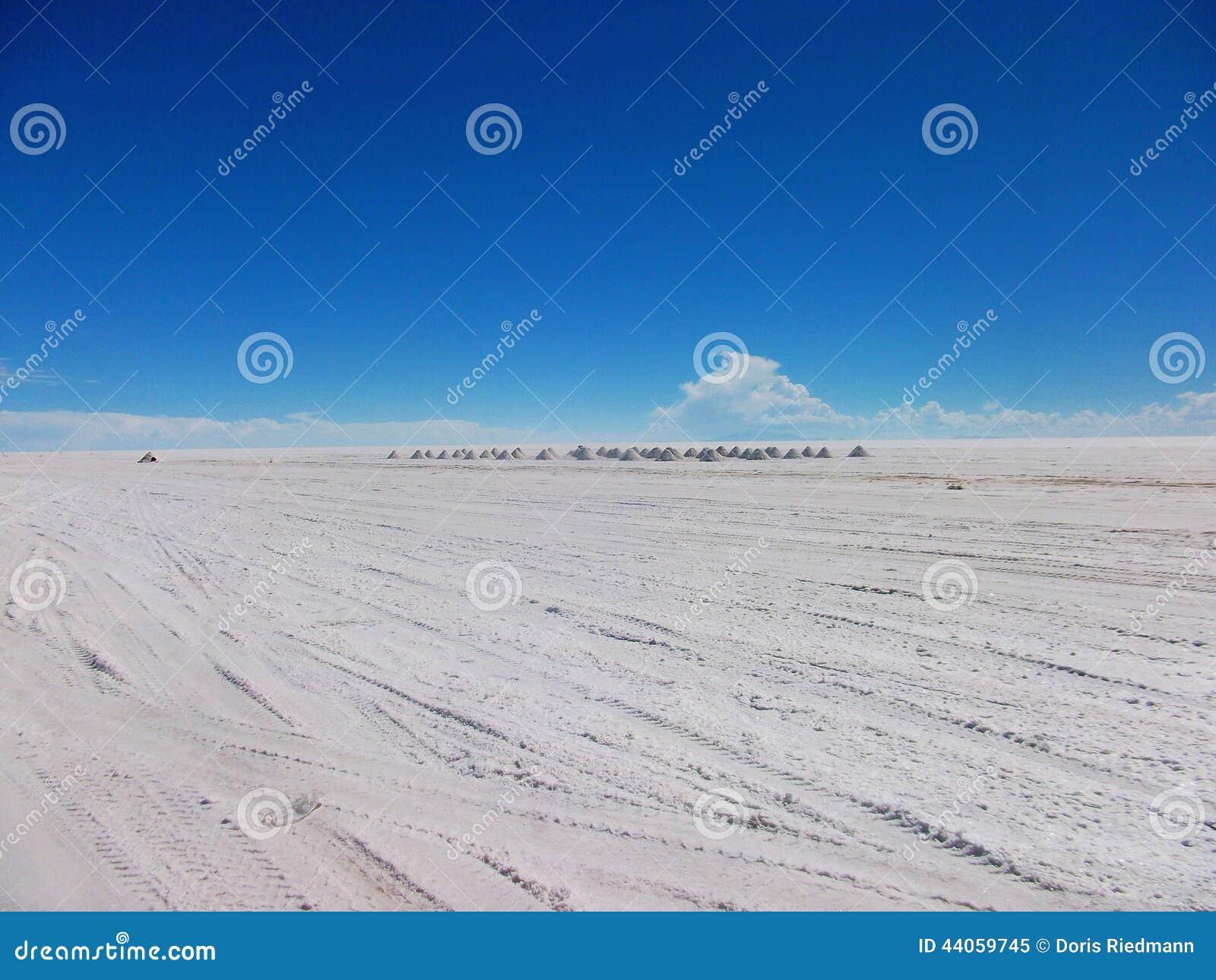 Lago salt en Bolivia Salar de Uyuni