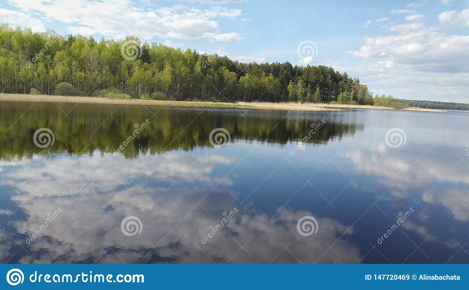 Lago Seliger in Russia