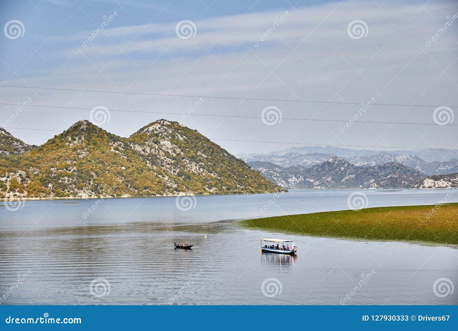 Lago Skadar Parque nacional montenegro verão