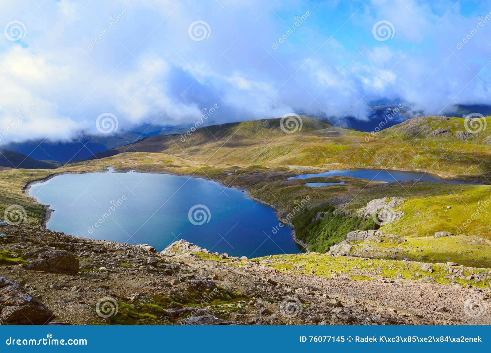 Lago Sylvester, valle de Cobb