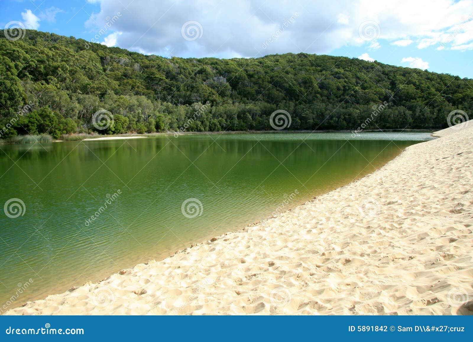 Lago Wabby - isla de Fraser