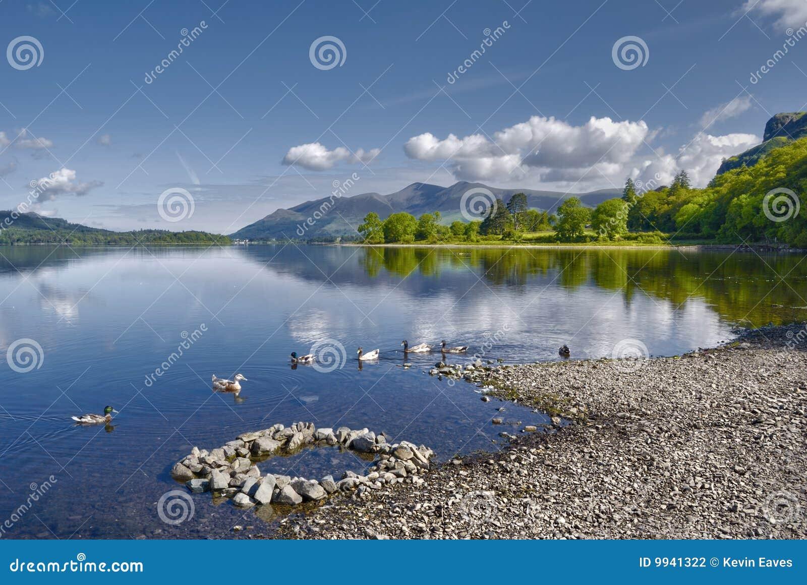 Lago water de Derwent