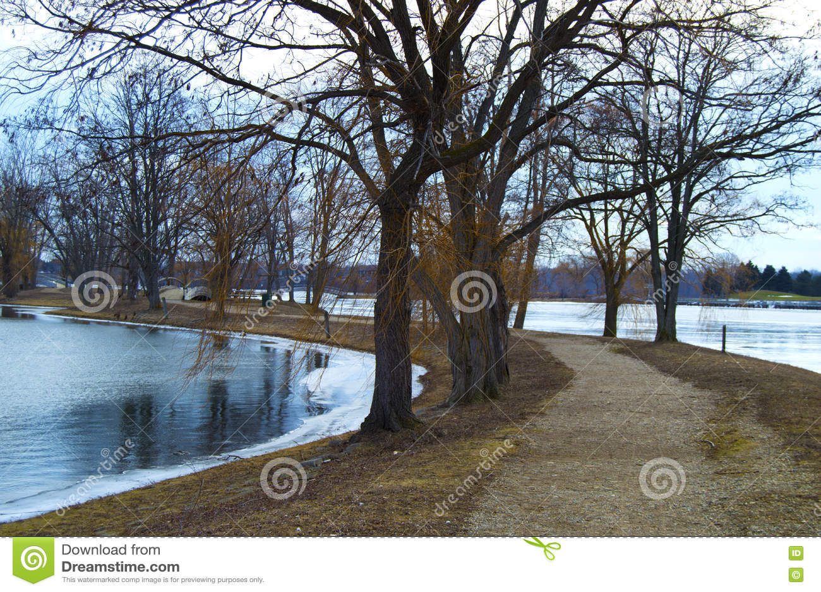 Lago winter