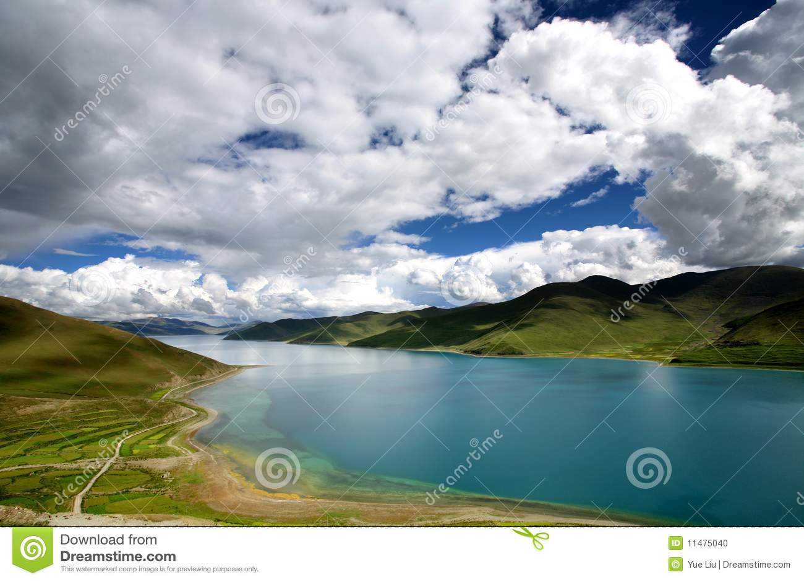Lago Yamdrok-tso