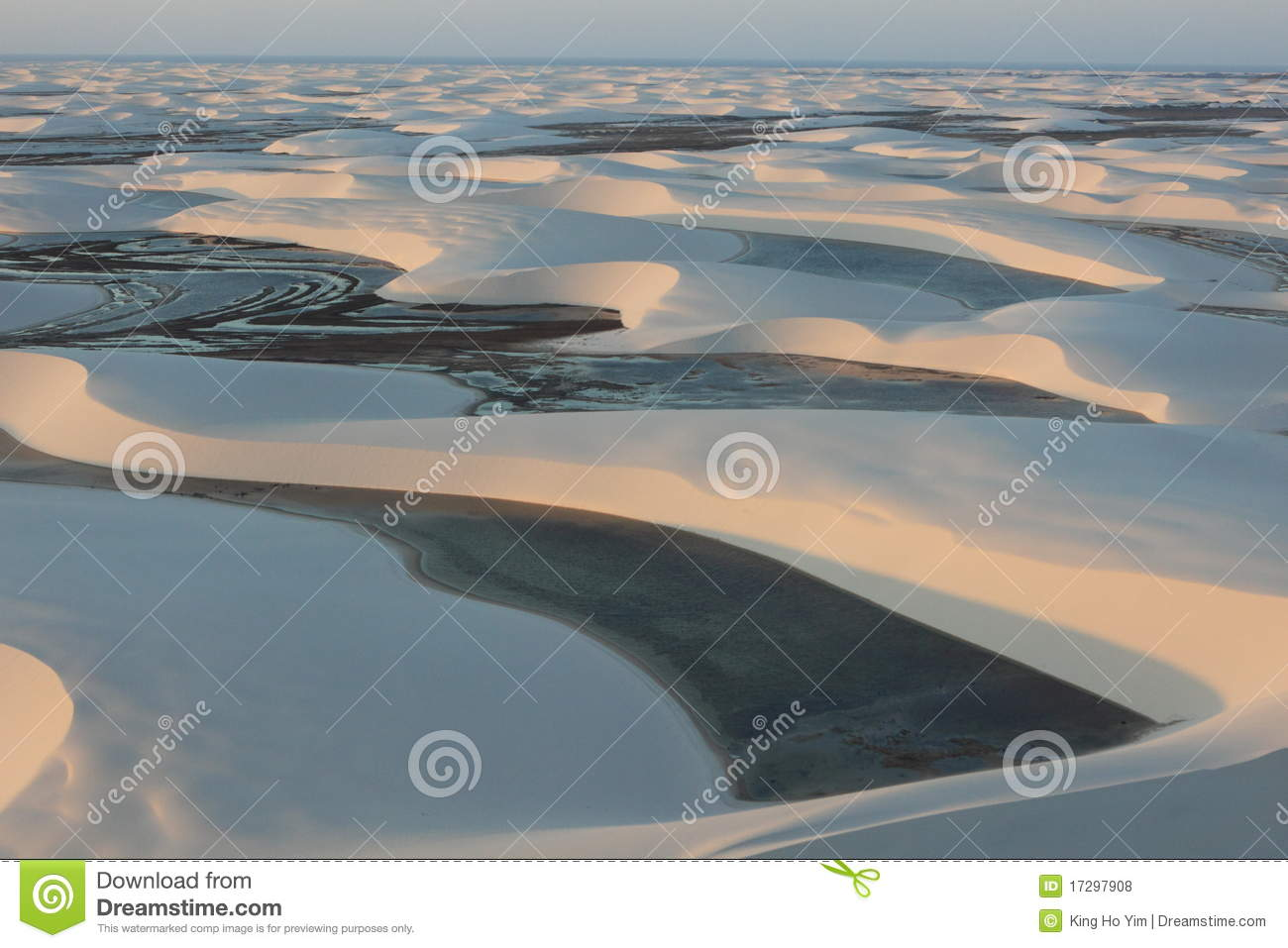 Download Lagoon in a desert stock photo. Image of maranhenses - 17297908