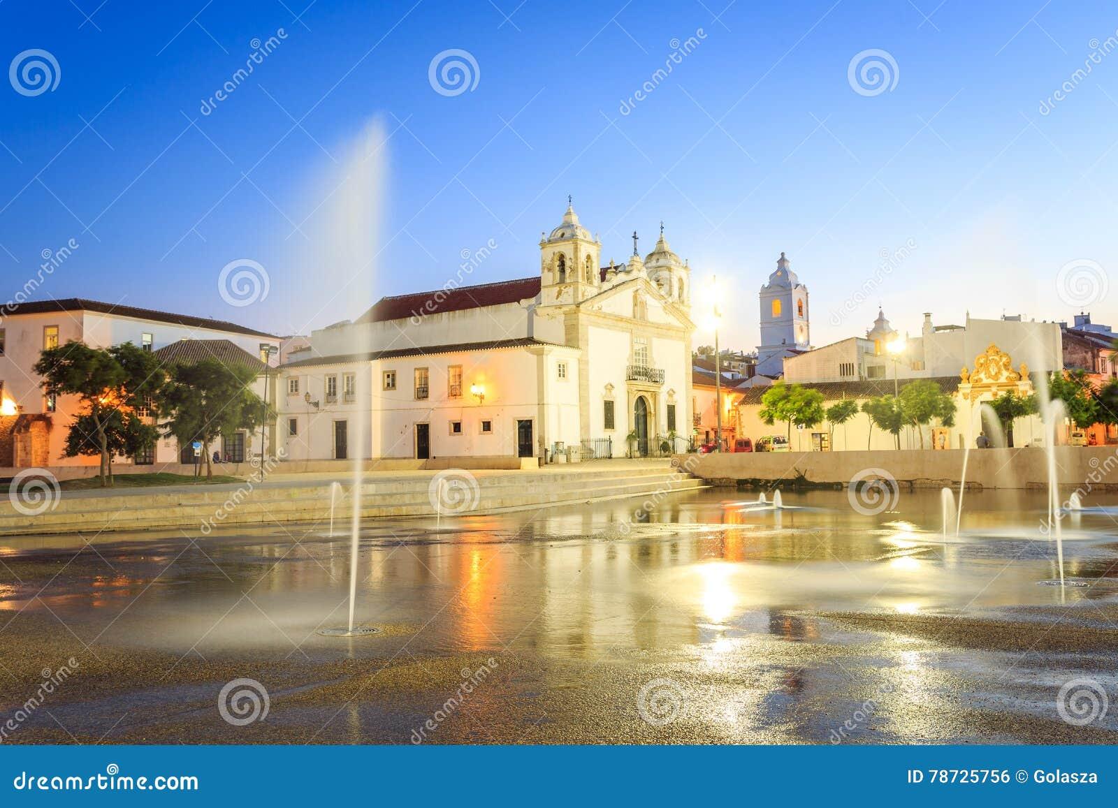 Lagos centrum, Algarve, Portugal