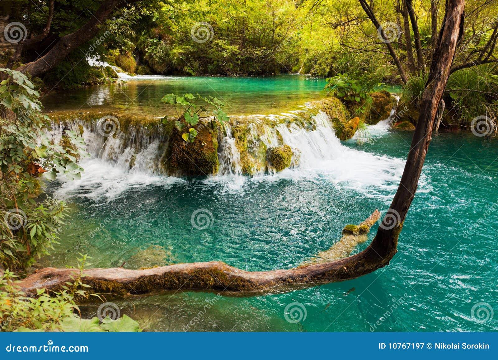 Lagos Plitvice em Croatia