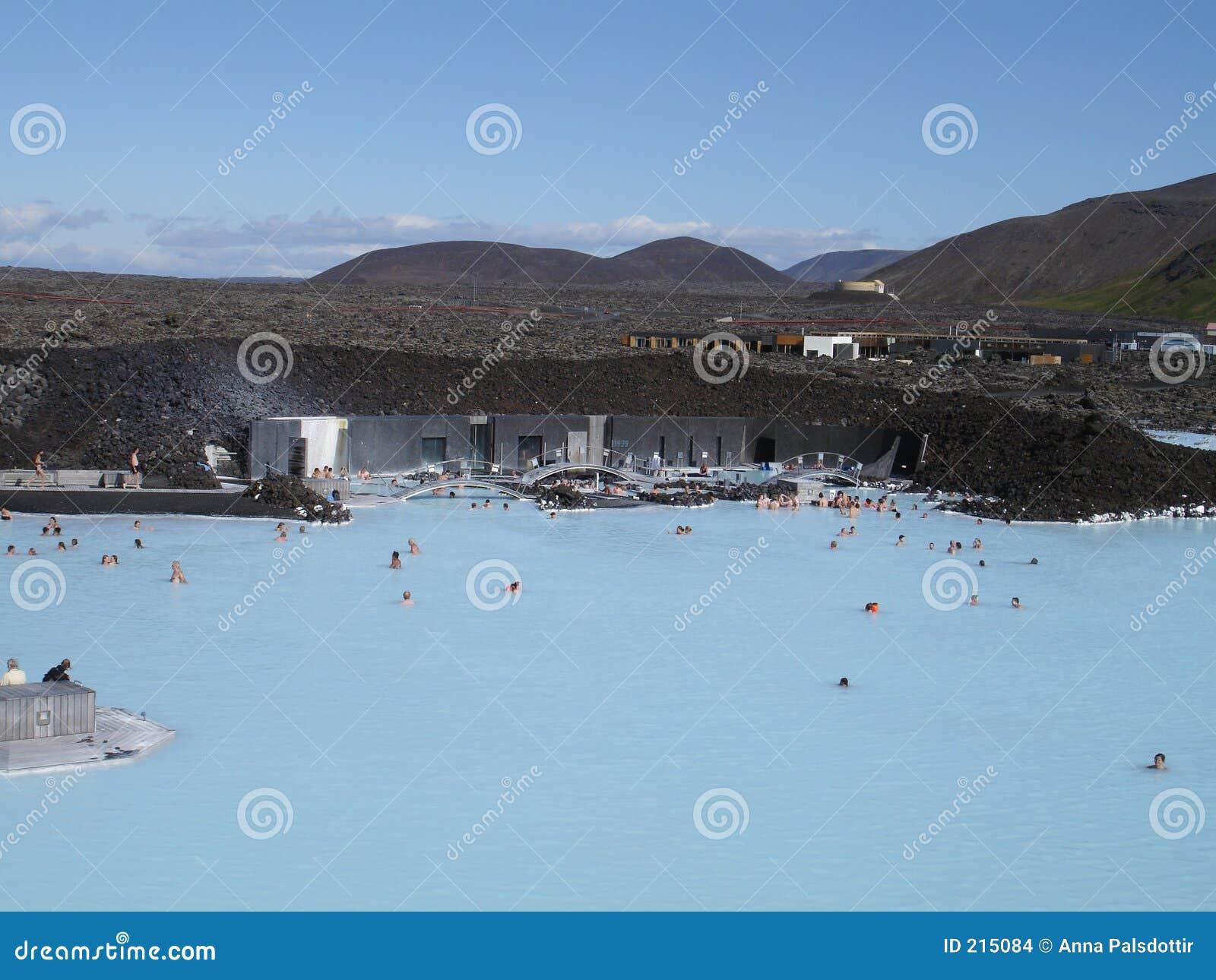 Lagun för 3 blue