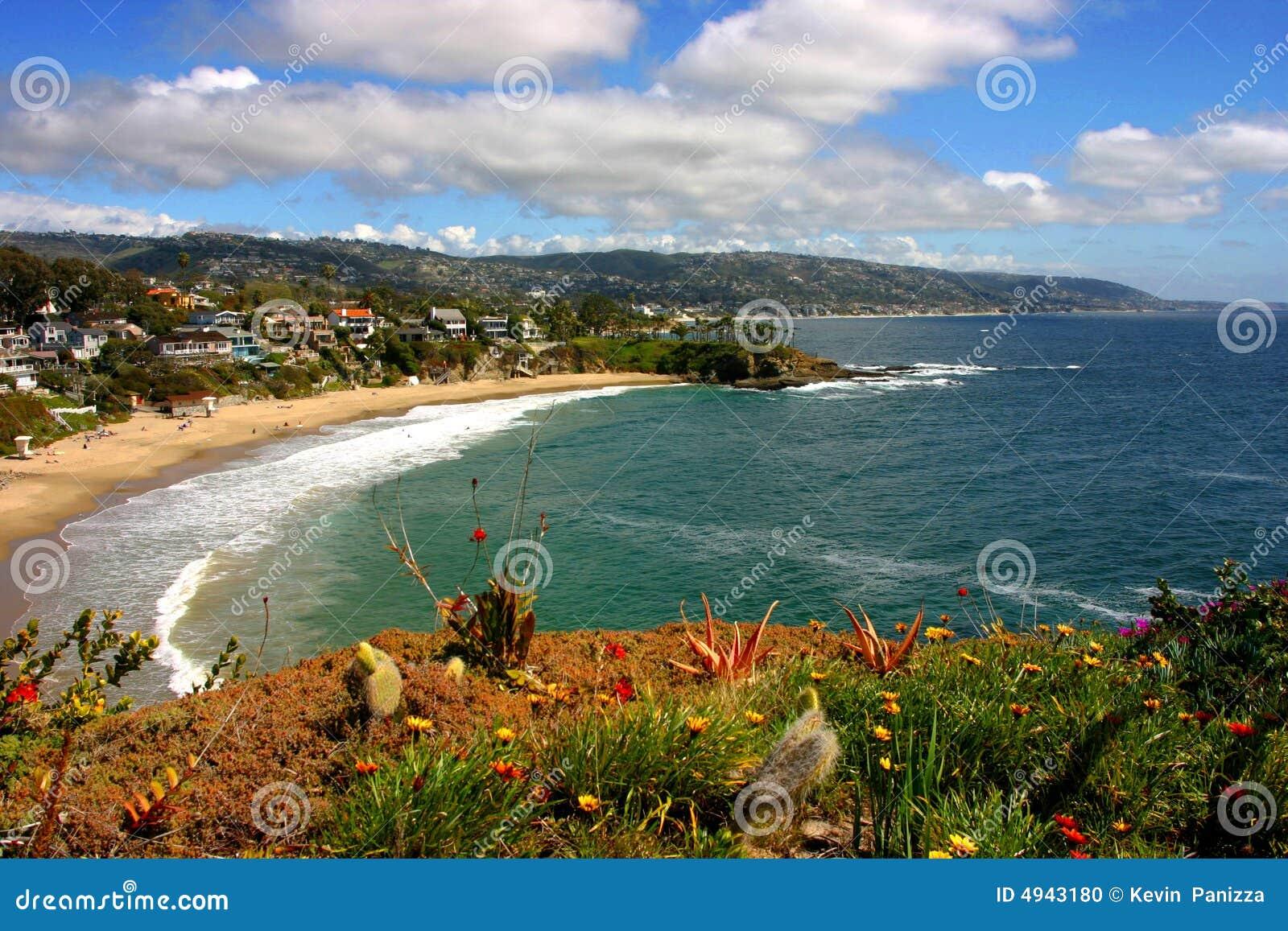 Laguna Beach en croissant de crique